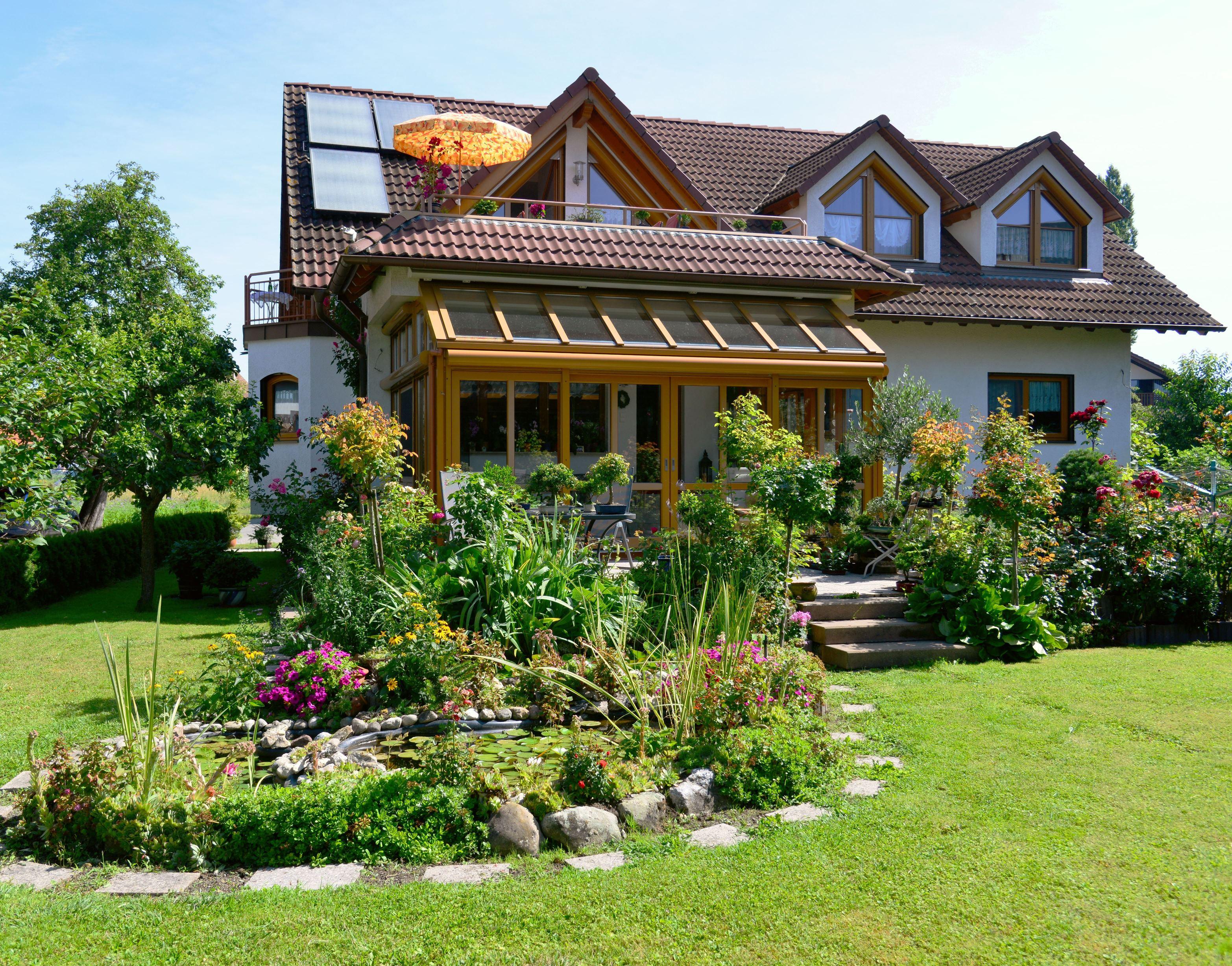 Ferienwohnung Haus Glas_Front_Home